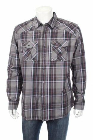 Ανδρικό πουκάμισο Marc Ecko, Μέγεθος L, Χρώμα Πολύχρωμο, Βαμβάκι, Τιμή 11,11€
