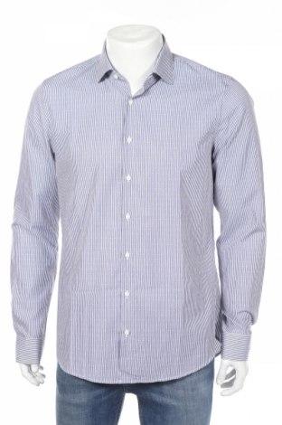 Мъжка риза Michael Kors, Размер L, Цвят Бял, Памук, Цена 101,27лв.