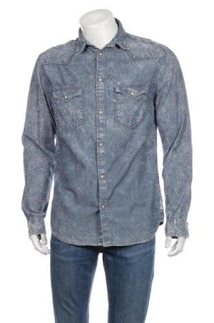 Pánska košeľa  Originals By Jack & Jones, Veľkosť L, Farba Modrá, Bavlna, Cena  12,47€
