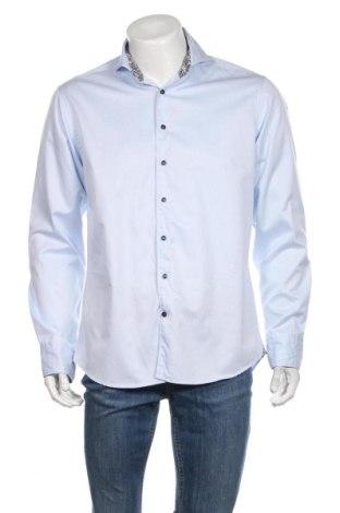 Ανδρικό πουκάμισο Stenstroms, Μέγεθος M, Χρώμα Μπλέ, Βαμβάκι, Τιμή 17,90€