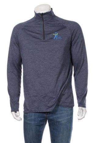 Мъжка спортна блуза Active&Co, Размер M, Цвят Син, 89% полиестер, 11% еластан, Цена 18,48лв.