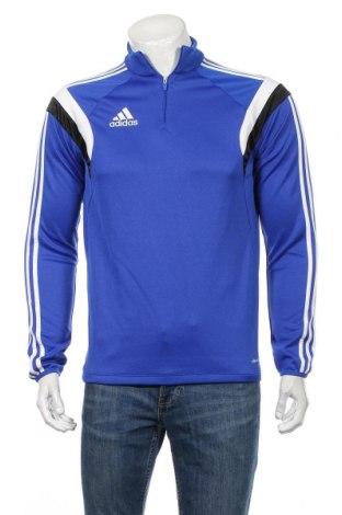 Ανδρική αθλητική μπλούζα Adidas, Μέγεθος S, Χρώμα Μπλέ, Πολυεστέρας, Τιμή 4,97€