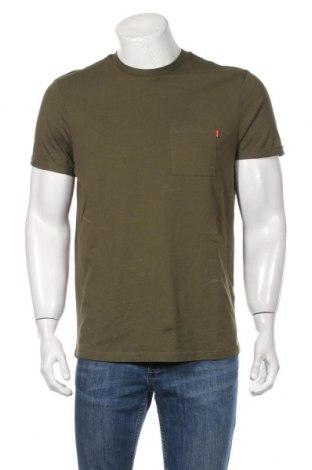 Tricou de bărbați Review, Mărime M, Culoare Verde, Bumbac, Preț 69,16 Lei