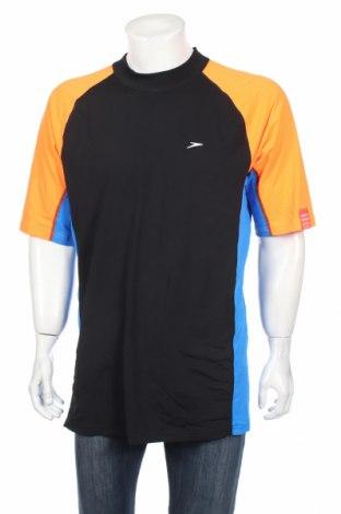 Мъжка тениска Speedo, Размер XL, Цвят Многоцветен, Полиестер, Цена 14,18лв.