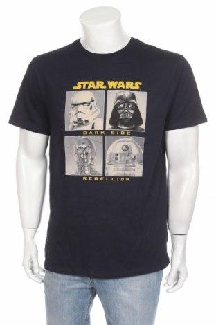 Ανδρικό t-shirt Star Wars, Μέγεθος XL, Χρώμα Μπλέ, Βαμβάκι, Τιμή 12,86€