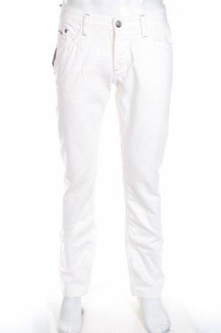 Мъжки дънки Camaro, Размер M, Цвят Бял, Памук, Цена 51,88лв.
