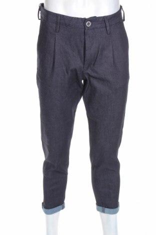 Мъжки дънки Jack & Jones, Размер M, Цвят Син, 93% памук, 6% полиестер, 1% еластан, Цена 26,65лв.