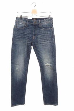 Мъжки дънки Jack & Jones, Размер XS, Цвят Син, 85% полиестер, 13% полиестер, 2% еластан, Цена 25,35лв.