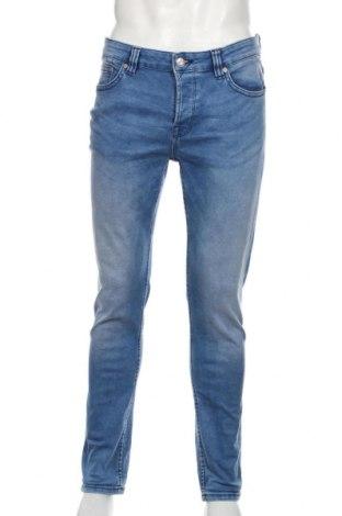 Мъжки дънки Only & Sons, Размер L, Цвят Син, 74% памук, 16% полиестер, 8% вискоза, 2% еластан, Цена 30,45лв.