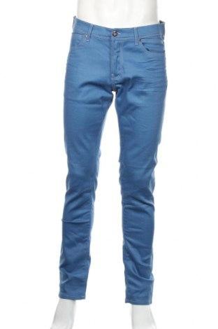 Męskie jeansy Zara Man, Rozmiar L, Kolor Niebieski, 87% bawełna, 11% poliamid, 2% elastyna, Cena 67,20zł