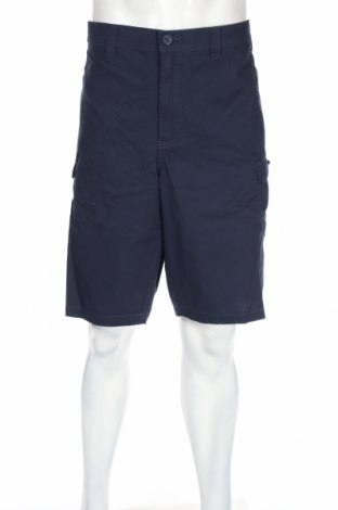 Pantaloni scurți de bărbați Bpc Bonprix Collection, Mărime 4XL, Culoare Albastru, Bumbac, Preț 80,69 Lei
