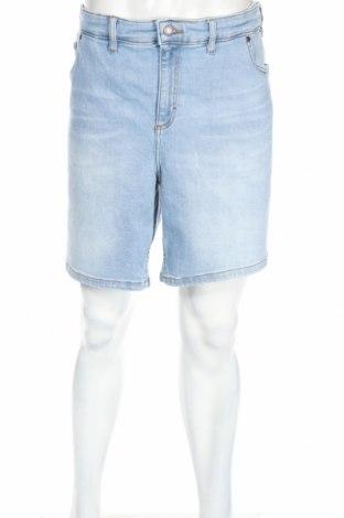 Pantaloni scurți de bărbați John Baner, Mărime 3XL, Culoare Albastru, 94% bumbac, 4% poliester, 2% elastan, Preț 92,21 Lei