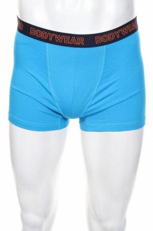 Мъжки комплект Angelo Litrico, Размер M, Цвят Син, 95% памук, 5% еластан, Цена 20,88лв.