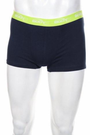 Мъжки комплект Angelo Litrico, Размер M, Цвят Син, 57% памук, 38% полиестер, 5% еластан, Цена 20,88лв.