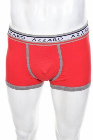 Мъжки комплект Azzaro, Размер L, Цвят Червен, 95% памук, 5% еластан, Цена 72,00лв.