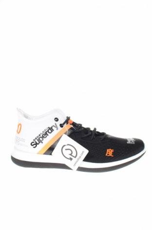 Мъжки обувки Superdry, Размер 43, Цвят Черен, Текстил, еко кожа, Цена 179,08лв.