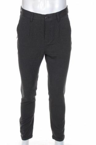 Мъжки панталон Jack & Jones, Размер S, Цвят Черен, 66% полиестер, 32% вискоза, 2% еластан, Цена 26,65лв.