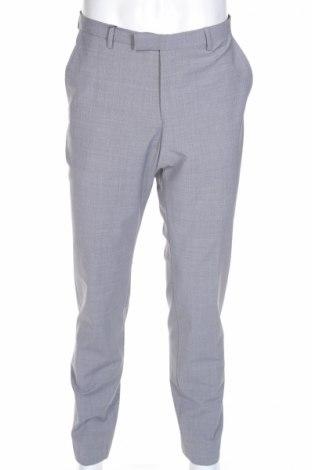 Мъжки панталон McNeal, Размер L, Цвят Сив, 52% полиестер, 44% вълна, 4% еластан, Цена 112,32лв.