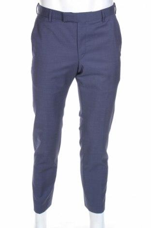 Мъжки панталон Strellson, Размер M, Цвят Син, Вълна, Цена 41,60лв.