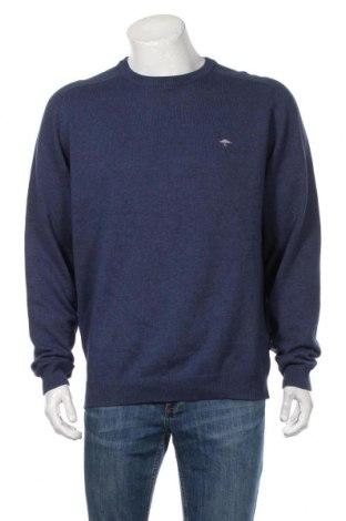 Ανδρικό πουλόβερ Fynch-Hatton, Μέγεθος XL, Χρώμα Μπλέ, Βαμβάκι, Τιμή 35,57€