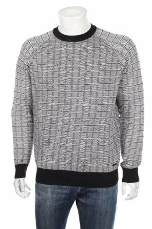 Мъжки пуловер Hugo Boss, Размер XL, Цвят Бял, 94% памук, 6% коприна, Цена 50,70лв.