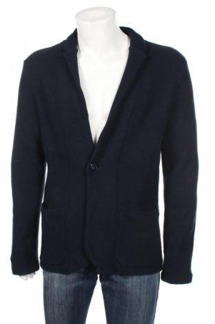 Ανδρικό σακάκι Armani Exchange, Μέγεθος L, Χρώμα Μπλέ, Βαμβάκι, Τιμή 154,12€