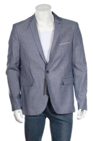 Мъжко сако Devred 1902, Размер XL, Цвят Син, 61% памук, 37% вискоза, 2% еластан, Цена 45,15лв.