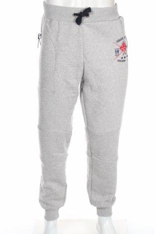 Pantaloni trening de bărbați Canadian Peak 1953, Mărime XXL, Culoare Gri, 65% bumbac, 35% poliester, Preț 128,82 Lei