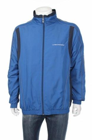 Мъжко спортно яке Linea Primero, Размер XL, Цвят Син, Полиестер, Цена 39,69лв.