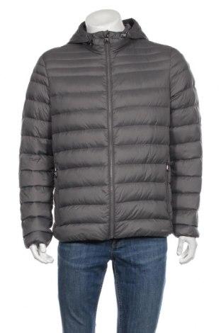 Pánska bunda  Geox, Veľkosť L, Farba Sivá, Polyester, perie , Cena  93,85€
