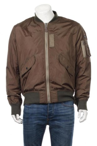 Pánská bunda  Schott, Rozměr XL, Barva Zelená, Polyamide, Cena  2655,00Kč
