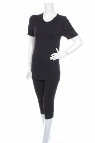 Пижама C&A, Размер XS, Цвят Черен, 95% вискоза, 5% еластан, Цена 19,50лв.