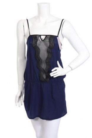 Пижама Huit 8, Размер M, Цвят Син, 88% полиамид, 8% еластан, 4% полиестер, Цена 20,70лв.