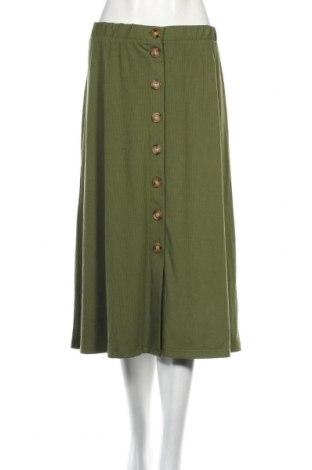 Φούστα Bodyflirt, Μέγεθος XL, Χρώμα Πράσινο, 94% βισκόζη, 6% ελαστάνη, Τιμή 12,53€