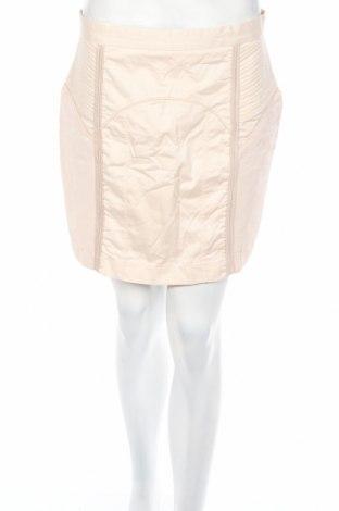 Пола H&M, Размер L, Цвят Бежов, 58% памук, 42% вискоза, Цена 7,18лв.