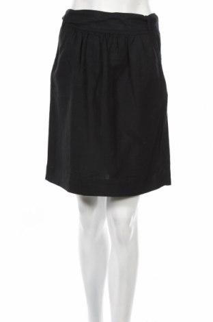 Φούστα Mossimo, Μέγεθος XS, Χρώμα Μαύρο, 52% λινό, 48% βισκόζη, Τιμή 5,86€