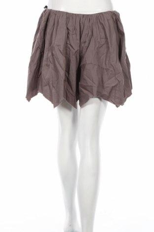 Дамски къс панталон Religion, Размер S, Цвят Сив, Памук, Цена 6,50лв.