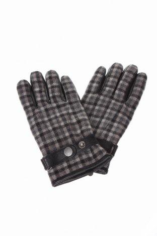 Mănuși Devred 1902, Culoare Gri, Piele naturală, textil, Preț 84,74 Lei