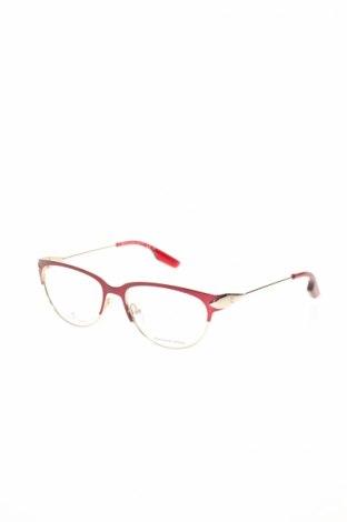 Рамки за очила Alexander Mcqueen, Цвят Златист, Цена 226,17лв.