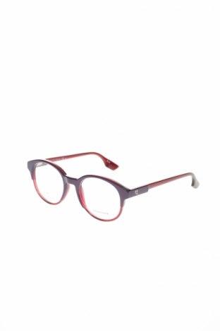 Рамки за очила Alexander Mcqueen, Цвят Лилав, Цена 226,17лв.