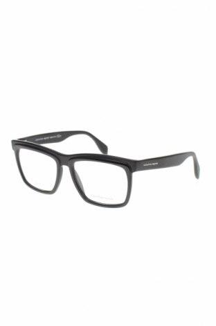 Рамки за очила Alexander Mcqueen, Цвят Черен, Цена 208,22лв.