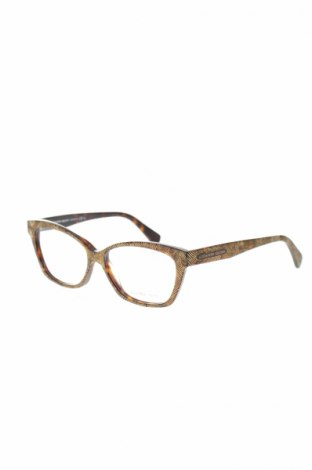 Рамки за очила Alexander Mcqueen, Цвят Жълт, Цена 226,17лв.
