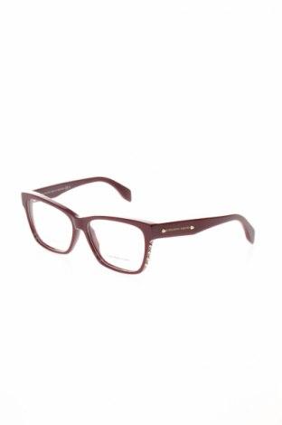 Рамки за очила Alexander Mcqueen, Цвят Червен, Цена 226,17лв.