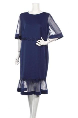Rochie Bodyflirt, Mărime XL, Culoare Albastru, 95% poliester, 5% elastan, Preț 109,89 Lei