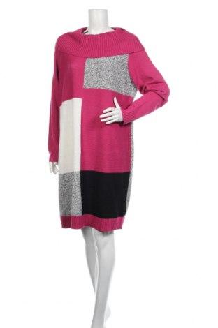 Рокля Bpc Bonprix Collection, Размер XXL, Цвят Розов, 50% памук, 50% акрил, Цена 21,60лв.