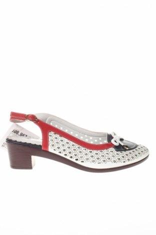 Sandale, Mărime 41, Culoare Alb, Piele ecologică, Preț 122,13 Lei