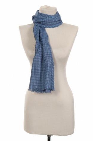 Κασκόλ Azzaro, Χρώμα Μπλέ, Βαμβάκι, Τιμή 32,78€