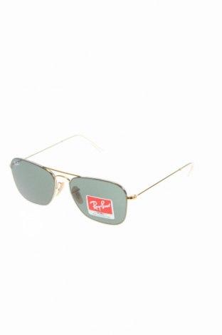 Γυαλιά ηλίου Ray Ban, Χρώμα Χρυσαφί, Τιμή 71,12€