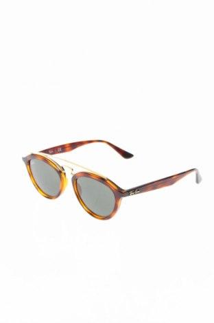 Слънчеви очила Ray Ban, Цвят Кафяв, Цена 131,40лв.