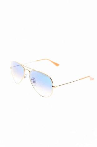 Ochelari de soare Ray Ban, Culoare Auriu, Preț 391,71 Lei
